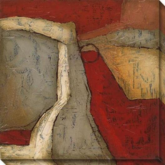 Wholeness Ii Canvas Wall Art - Ii, Brown