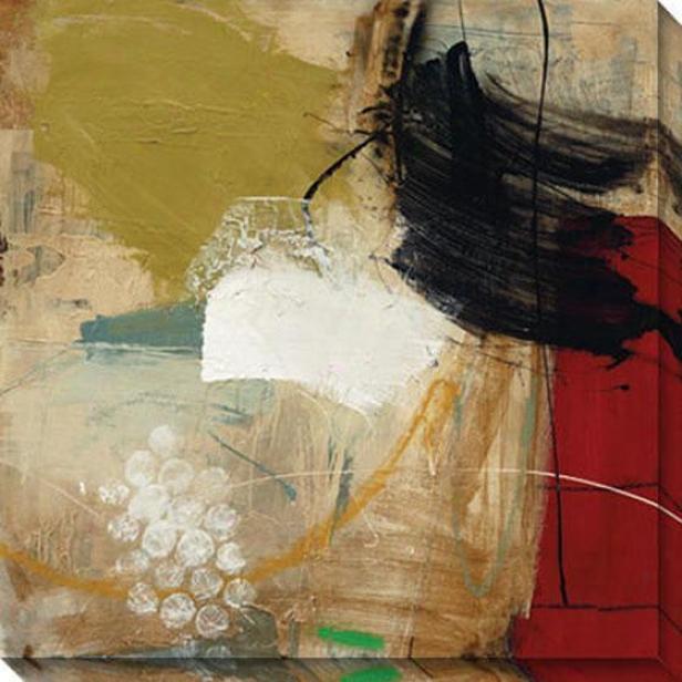 Into The Storm I Canvas Wall Art - I, Beige