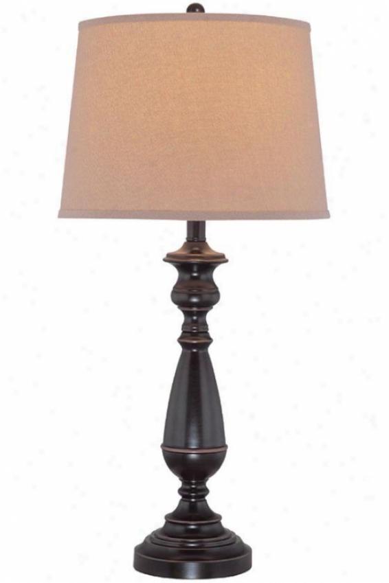 """""""isabelle Table Lamp - 29.5""""""""hx14""""""""d, Bronze"""""""