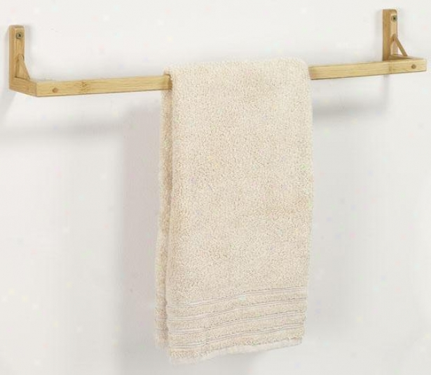 """isle Towel Rack - 3""""hx24""""d, Tan"""