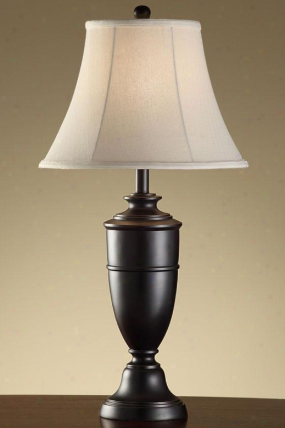 """jace Metal Table Lamp In Madison Bronze Finish - 29.5""""h, Madison Bronze"""