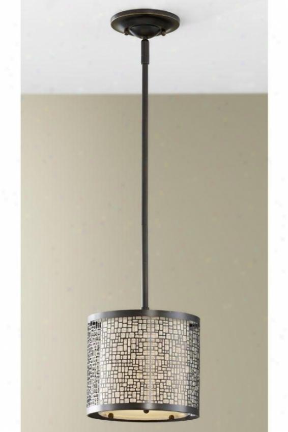 James Pendant - One Light, Bronze