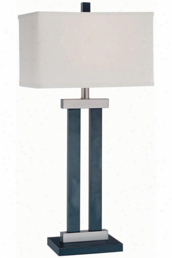 """james Table Lamp - 15.25""""x30.75"""", Bronze"""
