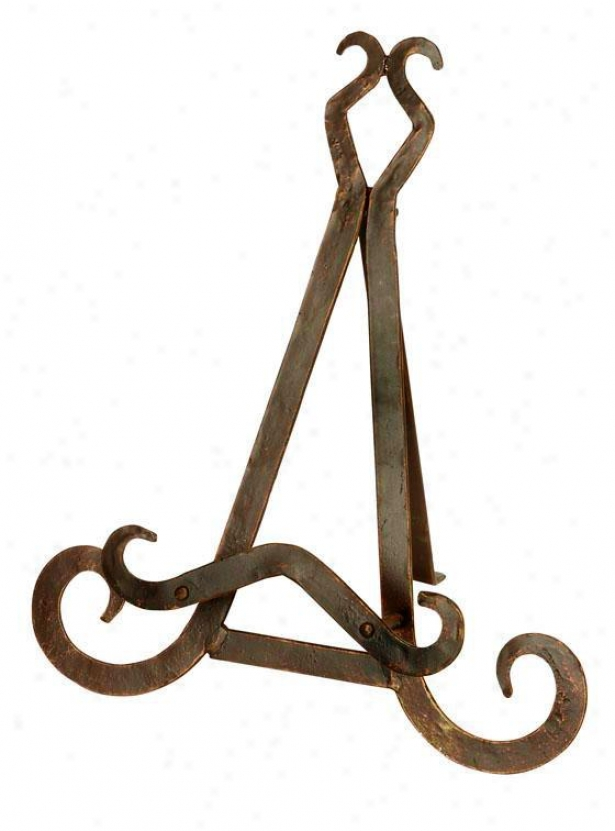 """jeeves Easel - 13""""h, Bronze"""