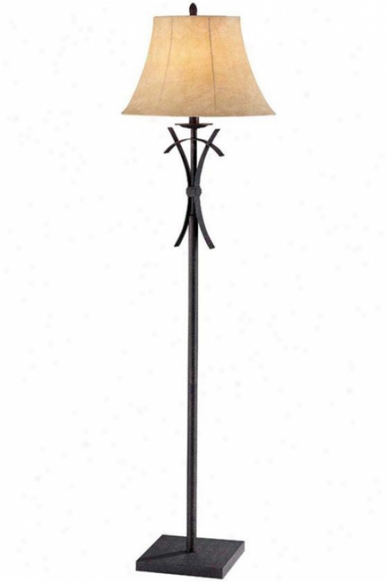 """kamryn Floor Lamp - 588""""hx15""""d, Black"""