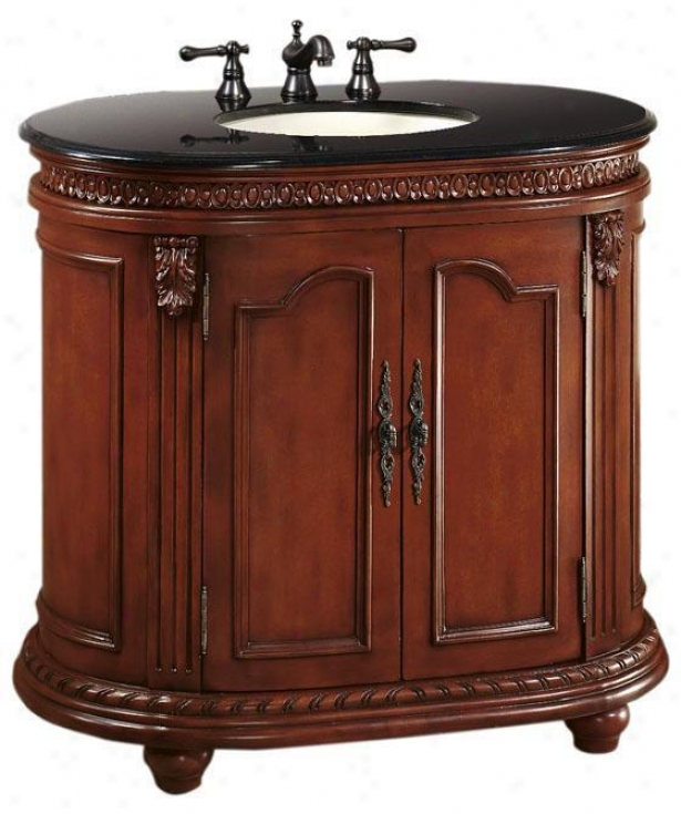"""kendall Single 37""""w Bathroom Vanity - 37""""w, Red"""