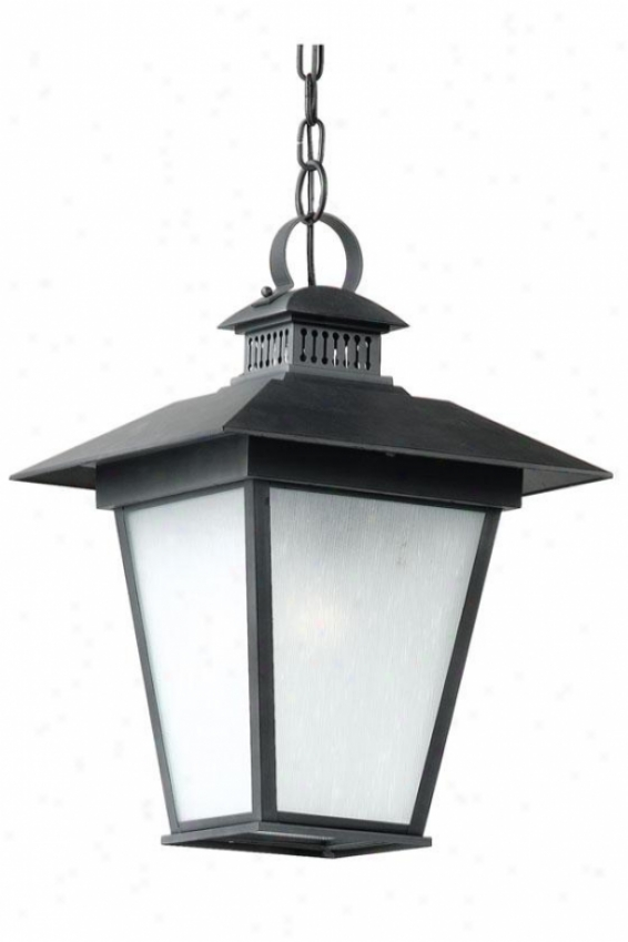 """kent Outdoor Hanging Lantern - 19""""h, Black"""