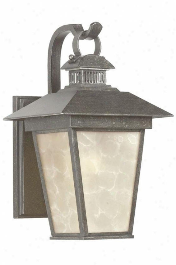 Kent Small Exterior Wall Lantern - Small, Hearst Bronze
