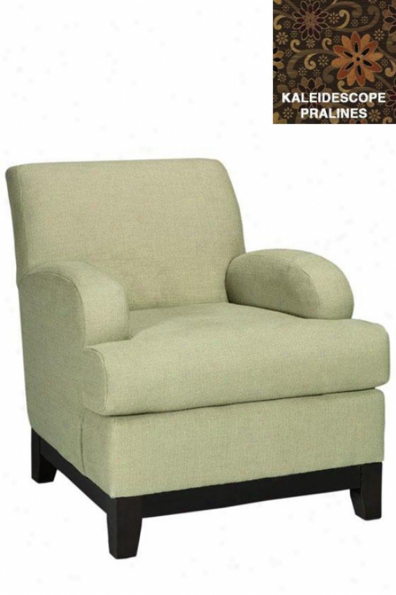 """kenter Club Chair - 37""""hx36""""w, Kldscpe Prlines"""