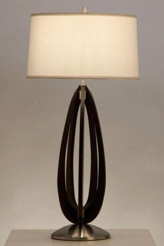 """kenzo Table Lamp - 28 X 14"""", Black"""