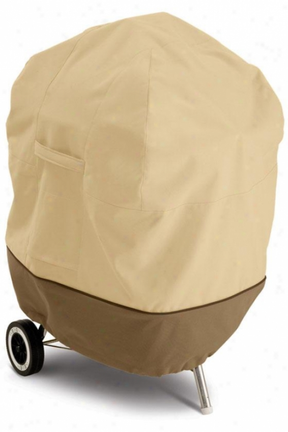 Kettle Bbq Cover - Ohe Size, P6bl/eearth/bark