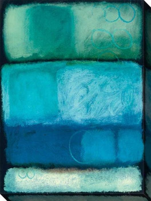 Kindness I Canvas Waall Art - I, Blue