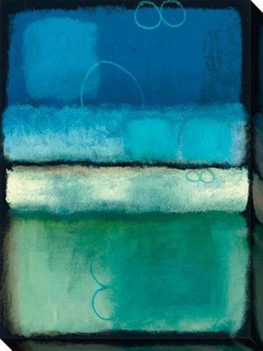 Kindness Ii Canvas Wall Art - Ii, Blue