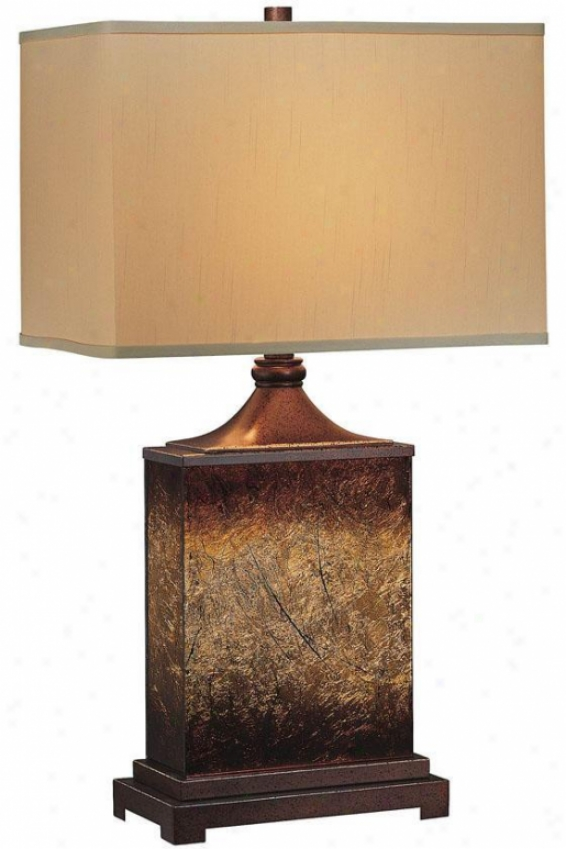 """kingsley Ta6le Lamp - 16.25""""x28.5"""", Brown"""