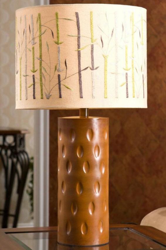 "k""noshi Lamp Table Lamp - 26 X 14.25"""", Ivory"""