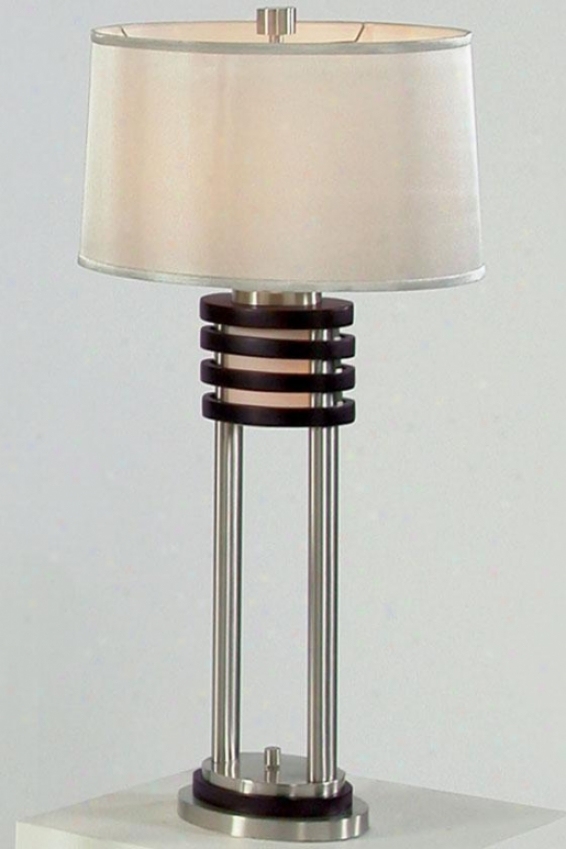 """kobe Iii Table Lamp - 29"""",h Brown"""