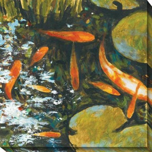 Koi Ii Canvas Wall Trade - Ii, Orange