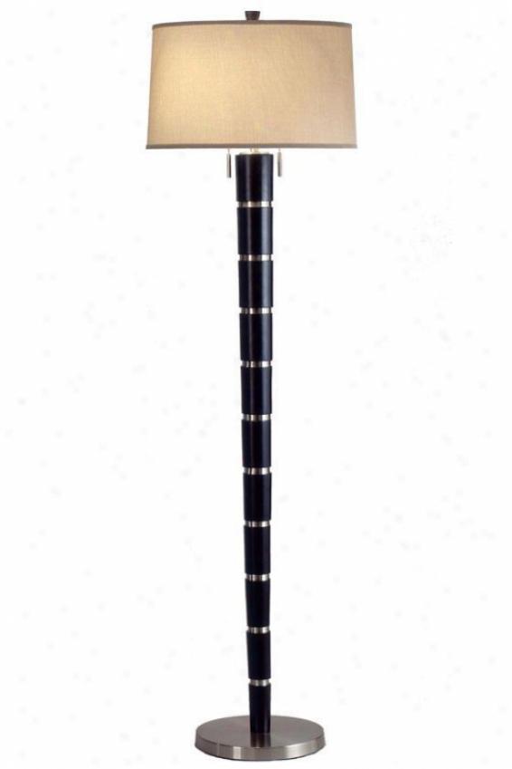 """konico Floor Lamp - 62""""h, Brown"""