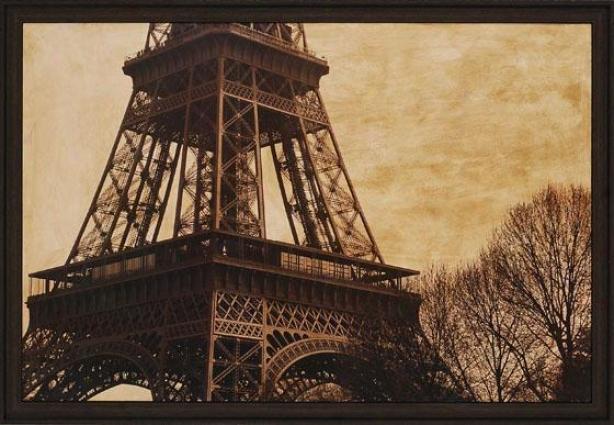 """""""la Belle Eiffel - 27""""""""hx39""""""""w, Murky"""""""
