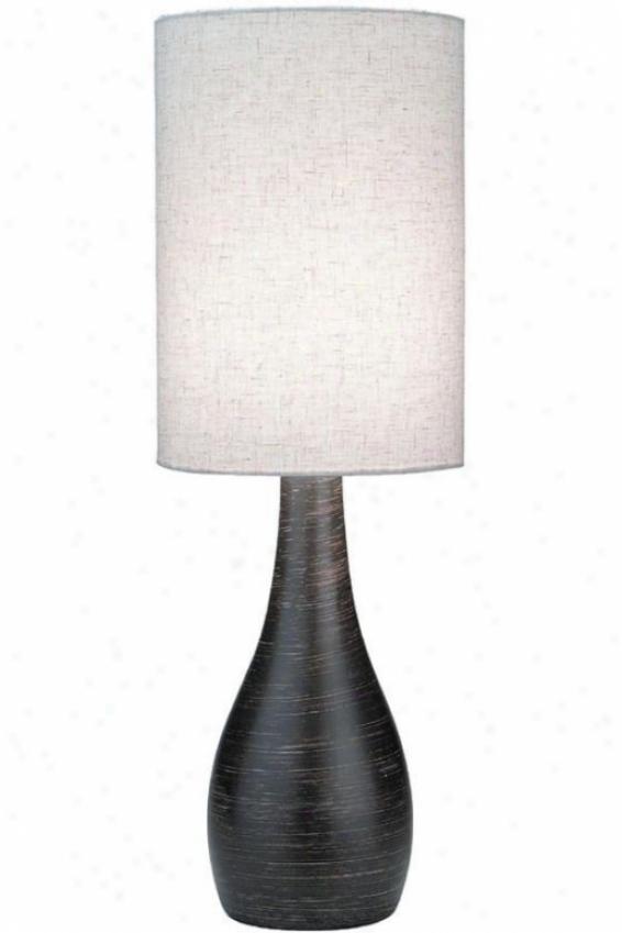 Lancashire Table Lamp - Large, Bronze