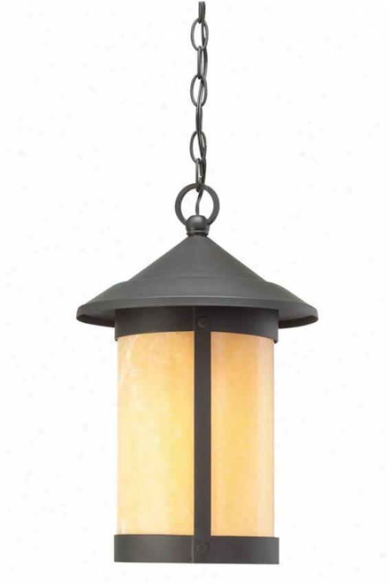 """""""landon Exterior Hanging Lantern - 17""""""""h, Black"""""""