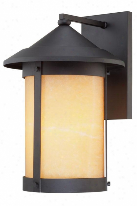 Landon Outdoor Wall Lantern - Large, Wicked