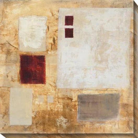 Lattice Iii Canvas Wall Creation of beauty - Iii, Gold