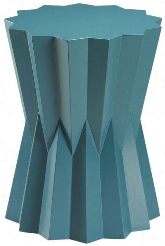"""lavello Accent Table - 22""""hx17""""w, Blue"""