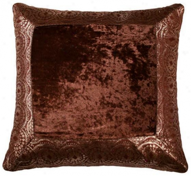 Layton Pillow - 18x18, Brown