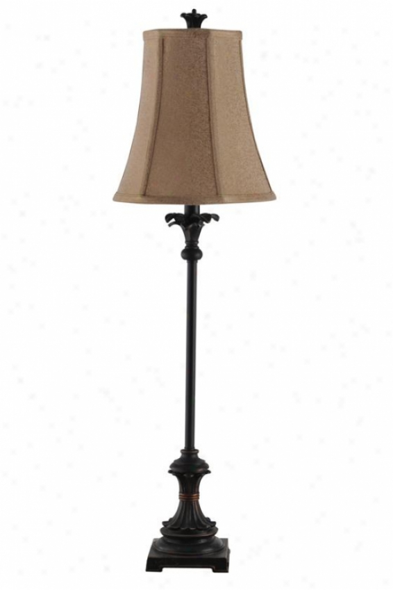 """lexii Buffet Lamp - 10""""wx10""""dx34""""h, Bronze"""