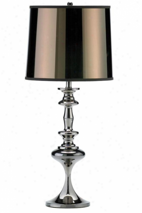 """liam Lamp - 27.5""""h, Silver Chrome"""