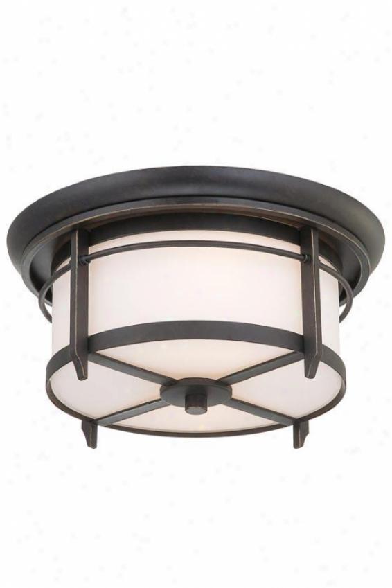 Liberty Outdoor Lantern - 2-light, Gold Bronze