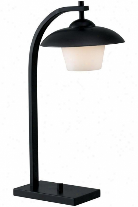 """lika Desk Lamp - 21""""h, Oil Rubbed Bronze"""