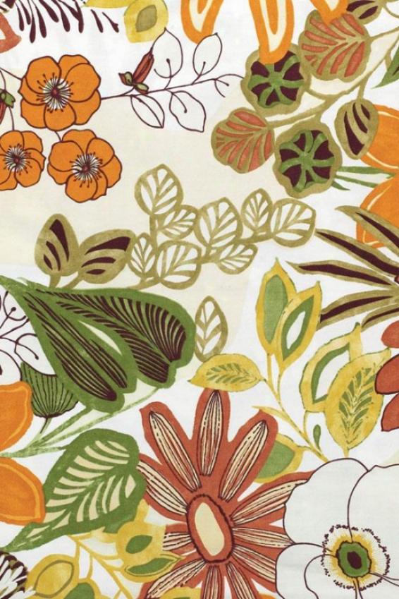 Lilith Marigold Fabric By The Yard - Fbrc By The Yrd, 1 Yard