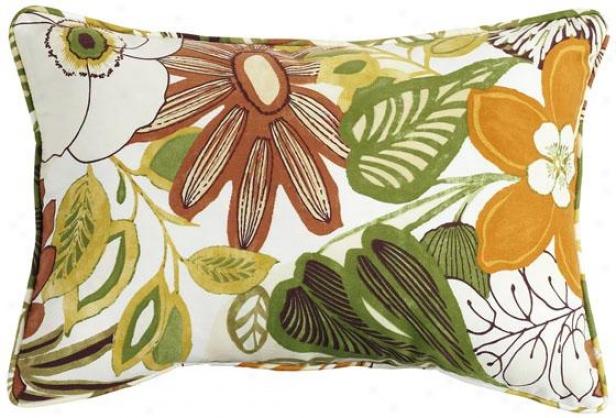 """lilith Marigold Fiber-filled Pillow - Fiber-flld Pllw, 12.5""""x19"""""""