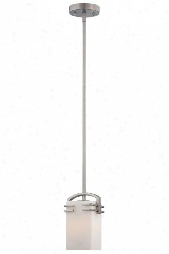 Logan Pendant - One Light, Stainless