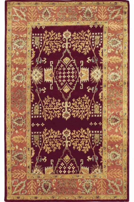 """loire Area Rug - 2'3""""x10', Copper"""