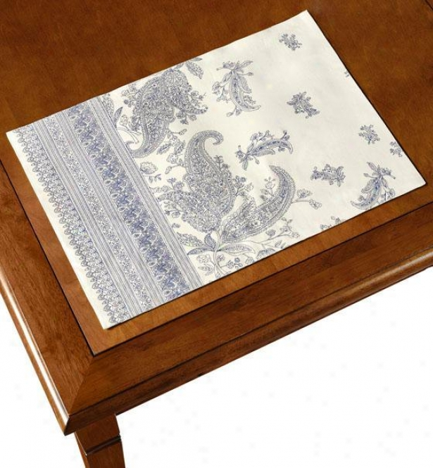 Lorelei Place Mats - Set Of 4 - Lorelei Desjgn, Blue