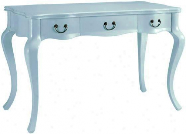"""louisa Desk - 31.75""""hx48""""w, Navy Blue"""