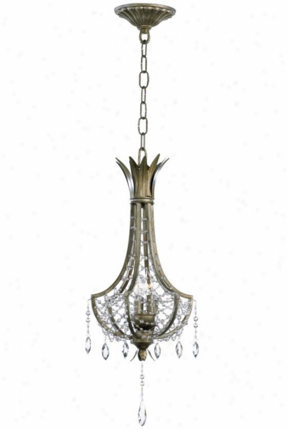 Luciana Pendant - 3-light, Bronze