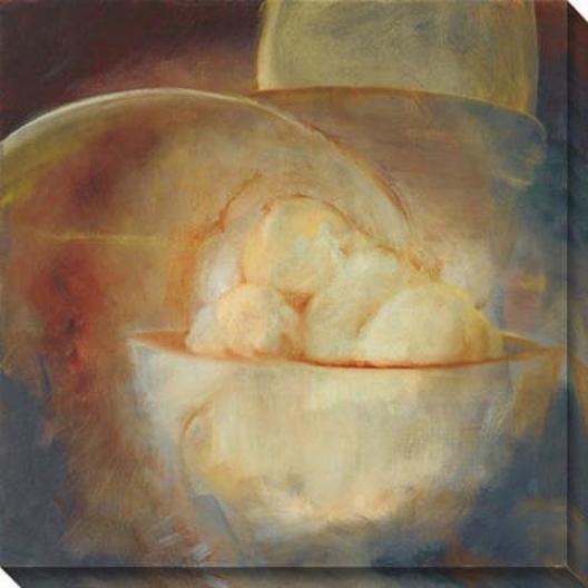 Luminous I Canvas Wall Art - I, Brown