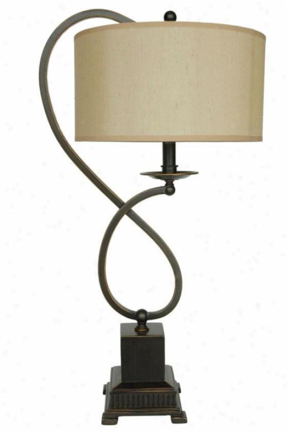 """""""lydia Bronze Metal Table Lamp - 27""""""""h, Bronze"""""""
