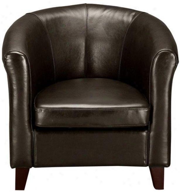 """""""madrid Club Chair - 30""""""""h, Brown"""""""