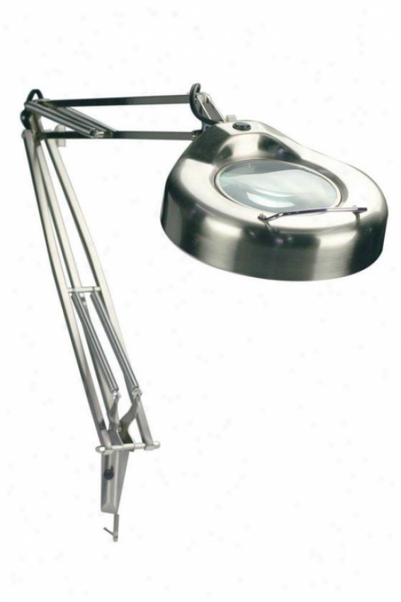 """magnify-lite Steel Magnifier Light - 42""""h X 9""""w, Silver"""