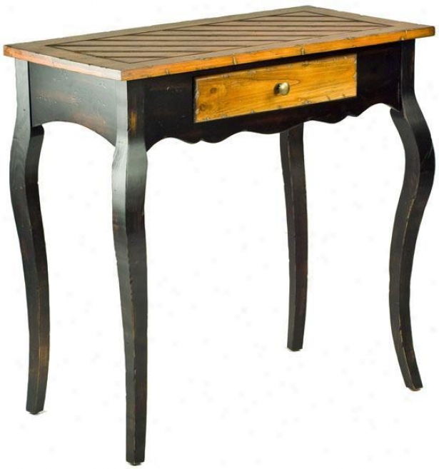 """maiso Accent Side Table - 30""""hx30""""w, Brown Wood"""