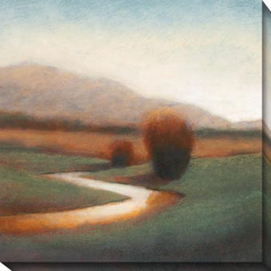 Majestic View I Canvas Wall Art - I, Earthtones