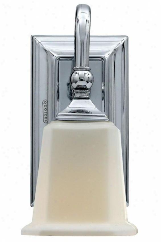 Malachi Sconce - 1-light, Steel Gray Chrome