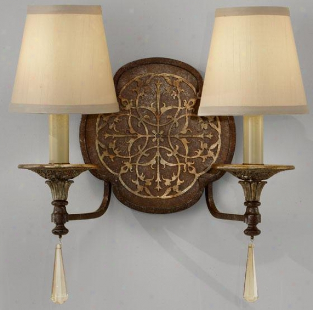 Marabelle Sconce - Two Light, Brit Bronze