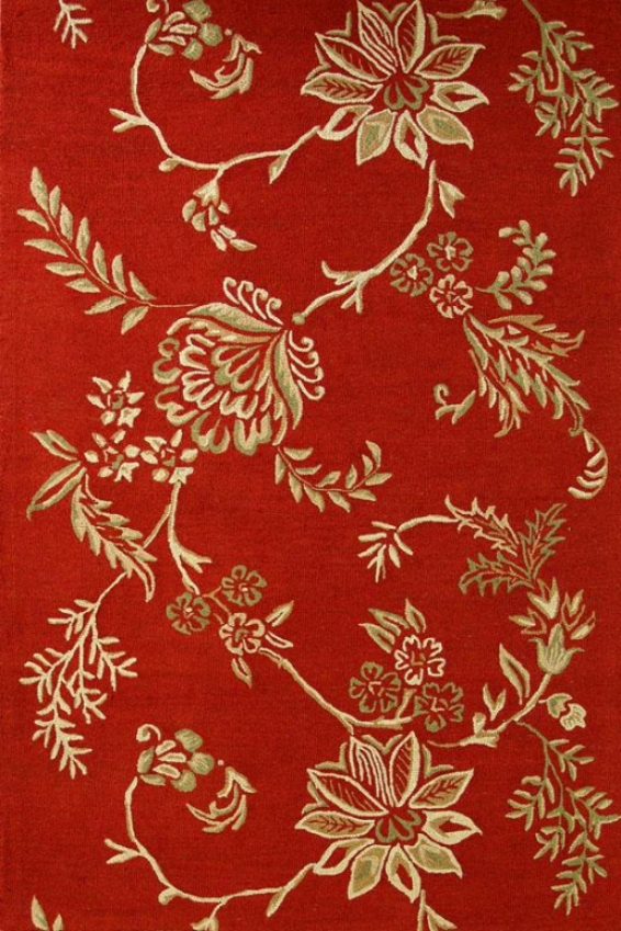 Marco Ii Area Rug - 8x11, Red