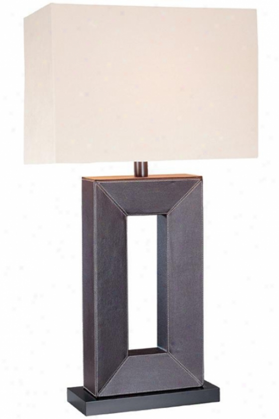 """marco Table Lamp - 28""""hx15""""w, Black"""